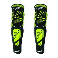 Наколенники Leatt Knee & Shin Guard 3DF Hybrid EXT Black/Lime