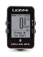 Компьютер Lezyne Power GPS, серебристый, Велокомпьютер с GPS датчиком 29 функций