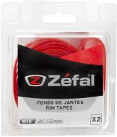Ободные ленты Zefal 26/22 мм 2 штуки красные