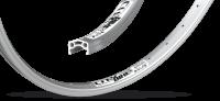 Обод Remerx RMX 4519 City Bike, 622x20, SA, серебристый, 36 спиц
