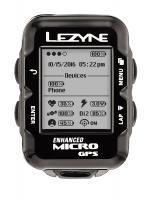 Велокомпьютер Lezyne MICRO GPS черный
