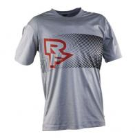 Велофутболка RaceFace TRIGGER TECH TOP SS Grey/Flame