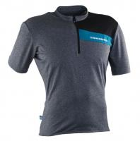 Велофутболка Raceface PODIUM JERSEY - Short Sleeve CHARCOAL