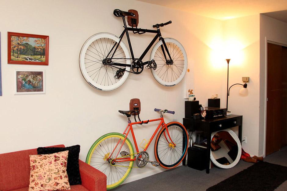 Кронштейны хранение велосипедов