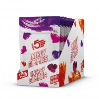 Конфеты энергетические HIGH5 Gummies Caffeine Mixed Berry 26g (Упаковка 10шт)
