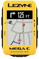 Велокомпьютер LEZYNE MEGA C GPS 2019 Limited Yellow Edition