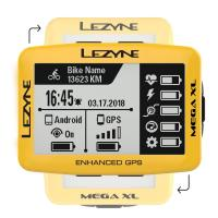 Велокомпьютер LEZYNE MEGA XL GPS 2019 Limited Yellow Edition