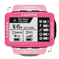 Велокомпьютер LEZYNE MEGA XL GPS 2019 Limited Pink Edition
