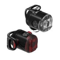Фонари передний задний LED FEMTO USB DRIVE PAIR Black