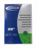 Камера SCHWALBE AV12B 26-27.5x3/4-1.10 (20/25-584/590) AV 40мм для тележек