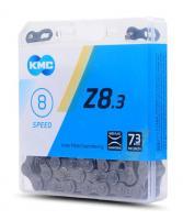 Цепь KMC Z8.3 7-8 скоростей 116 звеньев + замок Silver