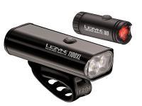 Набор фонарей Lezyne Macro Drive 1100XL / Micro PAIR Black 2018
