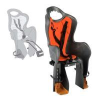 Сиденье для детей Bellelli Baseli Standard на раму, темн.серое-красн