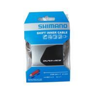 Тросик переключения Shimano XTR/DURA-ACE 2100Х1.2мм, нерж. с полимерн покрытием концевики в комплекте