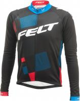 Джерси Felt long sleeve FRD jersey Black