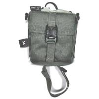 Велосипедная сумка под флягу ACEPAC Flask Bag Grey