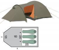 Палатка трехместная Pinguin Horizon 3 new