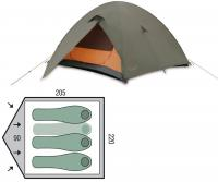 Палатка четырехместная Pinguin Serac