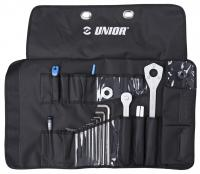 Набор инструментов UNIOR TOOLS дорожный 18шт 628715-1600WRAP-P