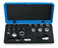 Комплект головок торцевых и бит Unior Tools 624040