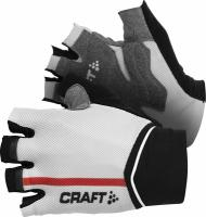 Велоперчатки Craft PB Glove Black/White/Bright Red