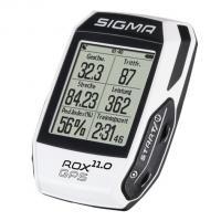 Велокомпьютер с GPS набор Sigma Sport ROX 11.0 GPS SET White