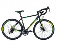 Велосипед шоссе Trinx Tempo 1.1 700C Matt Black Green