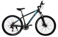 "Велосипед Trinx Majestic M136 Elite 27.5"" Matt-Black-Blue-Grey"