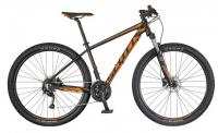 Велосипед Горный SCOTT ASPECT 750 2018 Black Orange