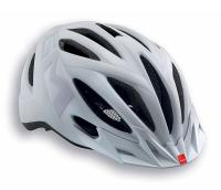 Шлем MET Active 20 Miles Matt texture white (Reflective Stickers)