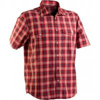 Рубашка RACE FACE SHOP SHIRT GREY/RED PLAID