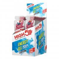 Гель энергетический HIGH5 Energy Gel Aqua Caffeine Berry 66g (Упаковка 20шт)