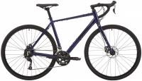 "Велосипед 28"" PRIDE ROCX 8.1 DARK BLUE BLACK 2020"