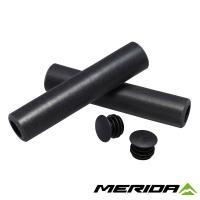 Грипсы Merida Team CC Black 130mm 32mm 60g Black Plug Silicon