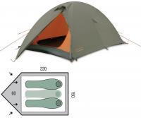 Палатка трехместная Pinguin Scout