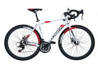 Велосипед шоссе Trinx Tempo 1.1 700C White Black Red