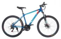 "Велосипед Trinx MAJESTIC M100 26"" Matt Blue Red Blue"
