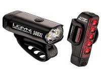 Набор велосипедных фонарей Lezyne Micro Drive 500XL and Strip PAIR Black 2018
