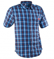 Рубашка RaceFace SHOP SHIRT BLUE/NAVY PLAID