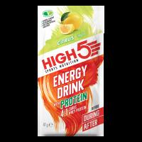 Напиток энергетический HIGH5 Energy Drink with Protein Citrus 47g (Упаковка 12шт)