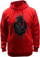 Толстовка Felt Hoody California Grizzly Men Red