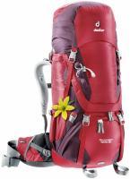 Женский рюкзак Deuter Aircontact 40+10 SL cranberry-aubergine