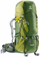 Женский рюкзак Deuter Aircontact 50+10 SL pine-moss