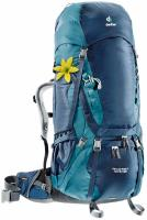Женский рюкзак Deuter Aircontact 70+10 SL midnight-denim
