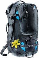 Дорожный рюкзак Deuter Traveller 60 + 10 SL black-turquoise