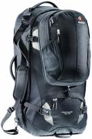 Дорожный рюкзак Deuter Traveller 70 + 10 black-silver
