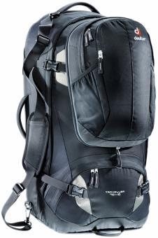 989111ea60ee Дорожный рюкзак Deuter Traveller 70 + 10 black-silver