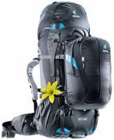 Женский рюкзак Deuter Quantum 60+10 SL black-turquoise