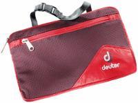 Органайзер туристический Deuter Wash Bag Lite II fire-aubergine