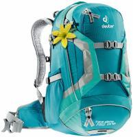 Спортивный женский рюкзак Deuter Trans Alpine PRO 24 SL petrol-mint